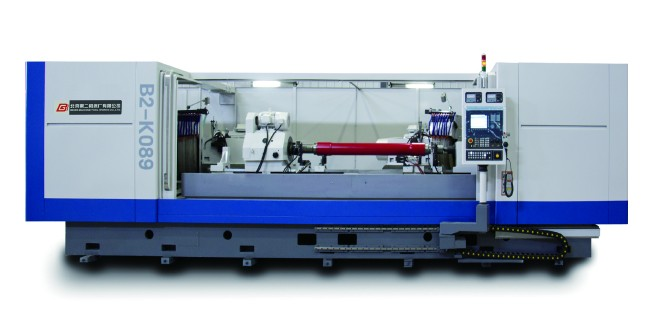 B2-K089 Double Wheel Head CNC Axle Grinding Machine