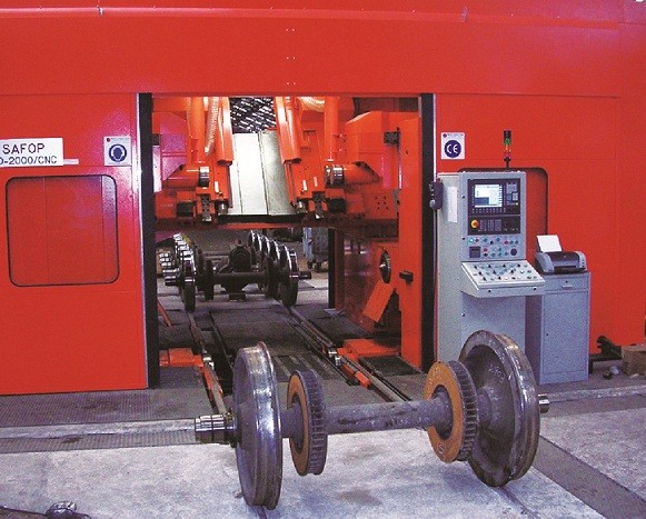 Portal Lathes For Wheelset Maintenance